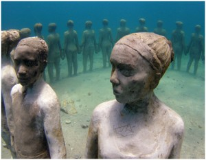 Underwater sculpture Circle of Unity