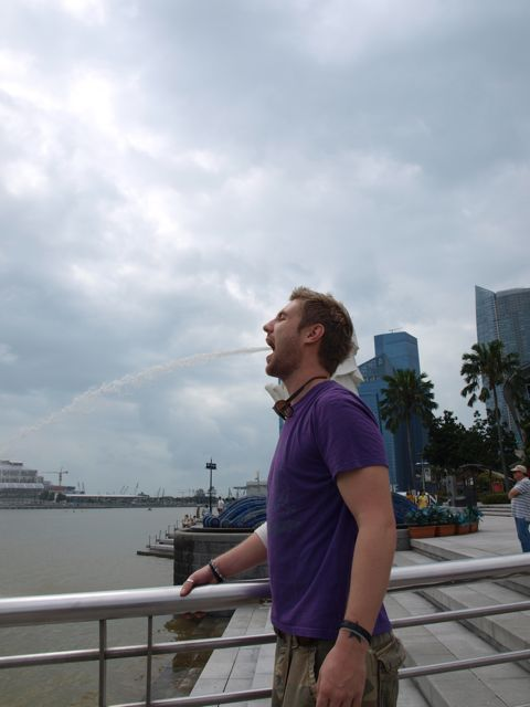 johnny ward in singapore