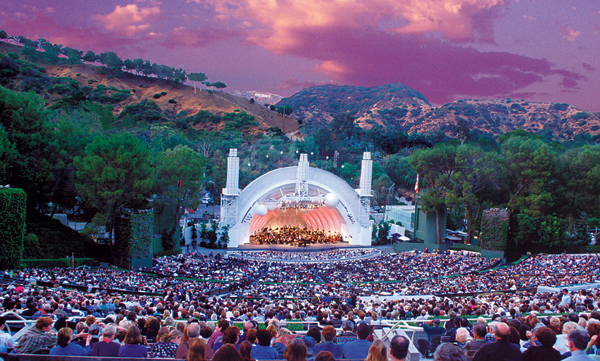 Hollywood Bowl California