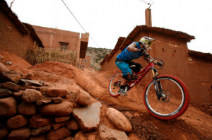 Mountain biking in Morocco